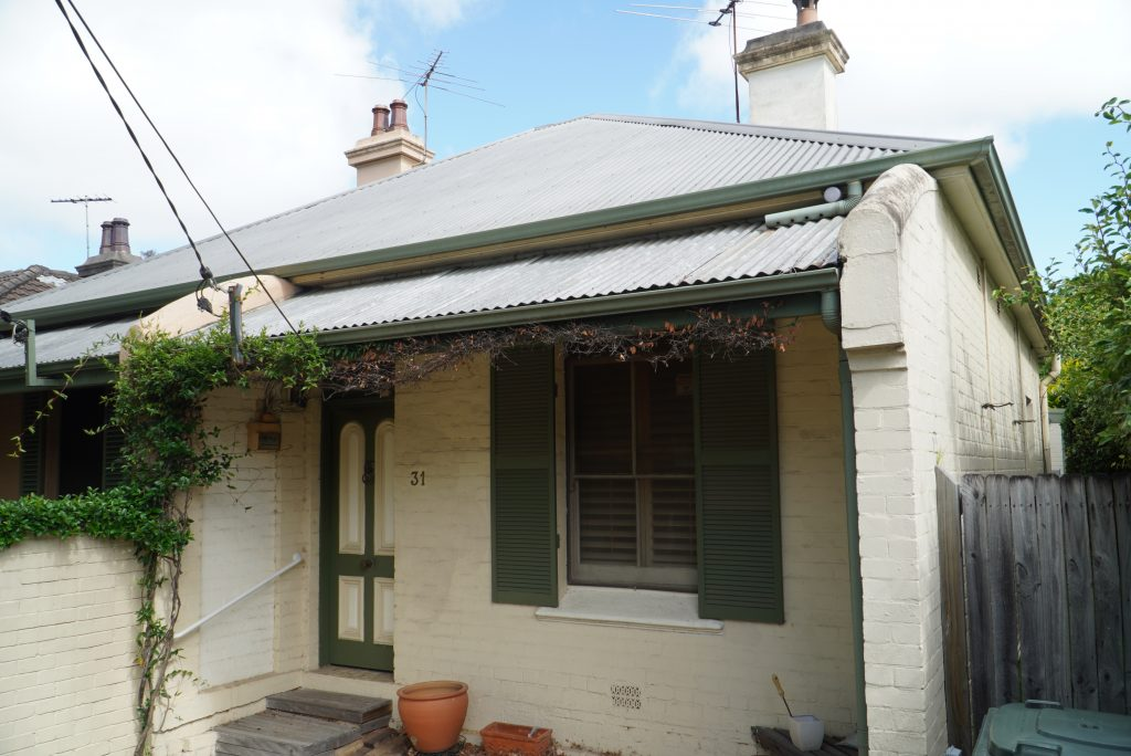 terrace victorian cottage